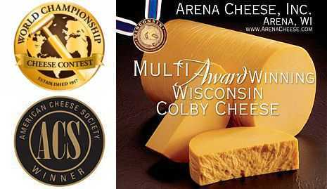 Award winning Wisconsin Colby Cheese
