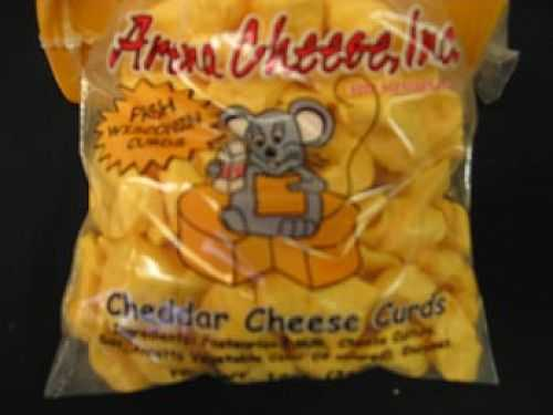 Pizza Flavor Wisconsin Cheese Curds 12 oz.