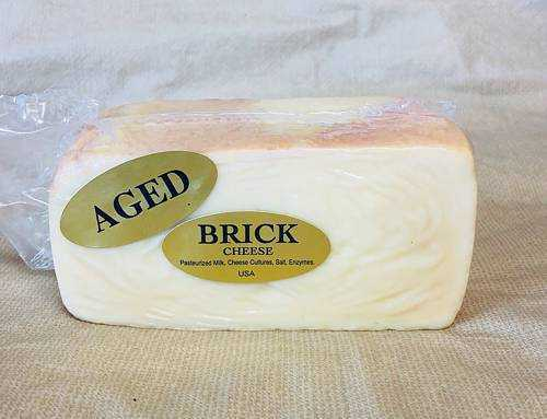 Aged Brick Cheese 1 lb.