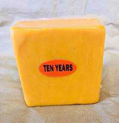 Sharp Cheddar Cheese (10-Year Old) 1 lb.