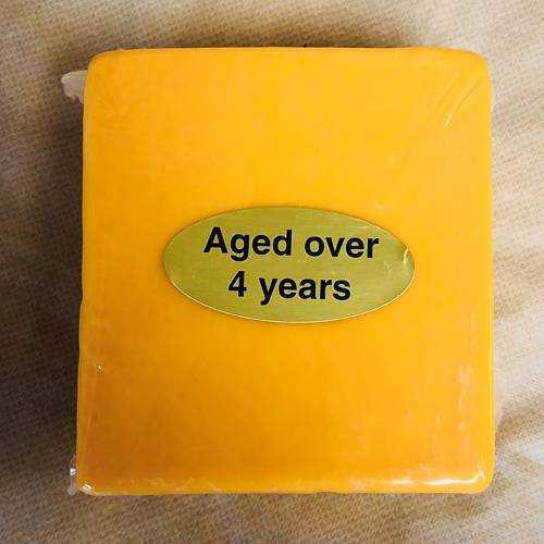 Sharp Cheddar Cheese (4-Year Old) 1 lb