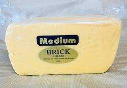 Medium Brick Cheese 1 lb.